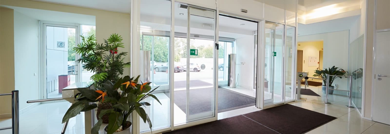 Commercial Glass & Aluminium Doors