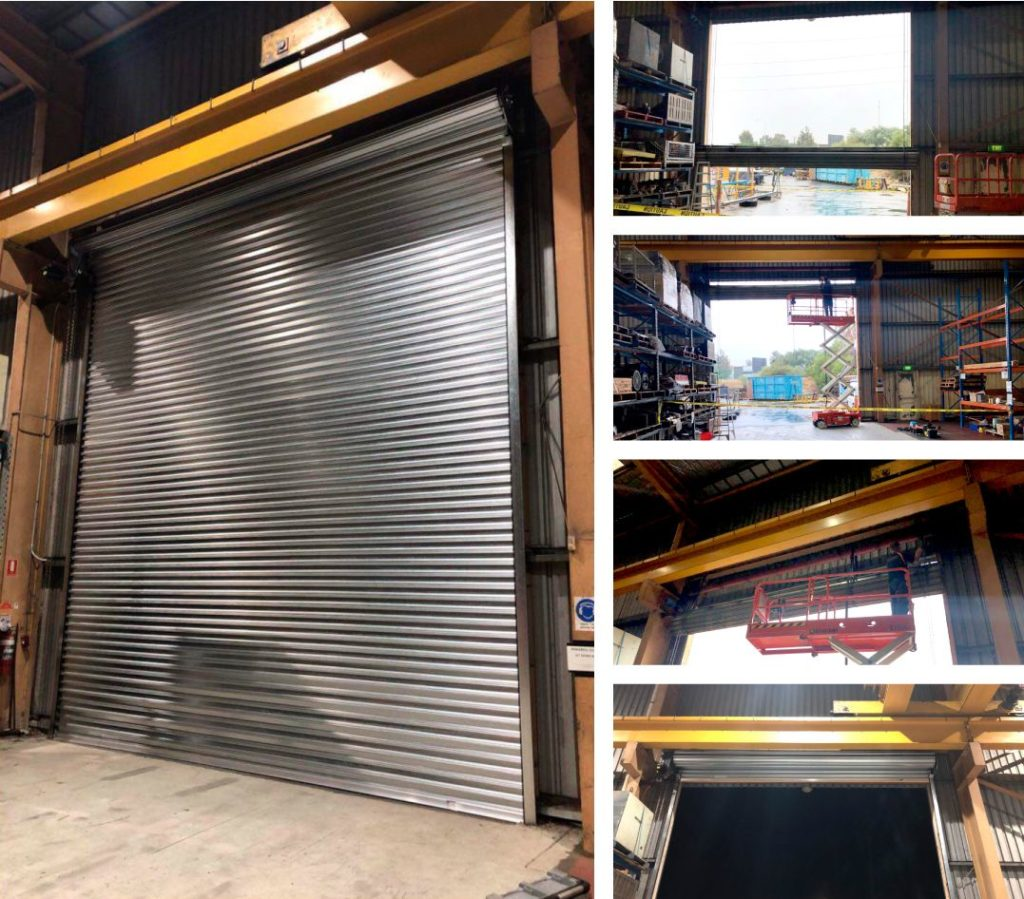 commercial-install roller door