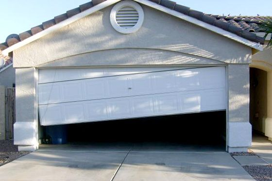 Garage Door Broken and not closing