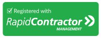 Registered with Rapid Contractor