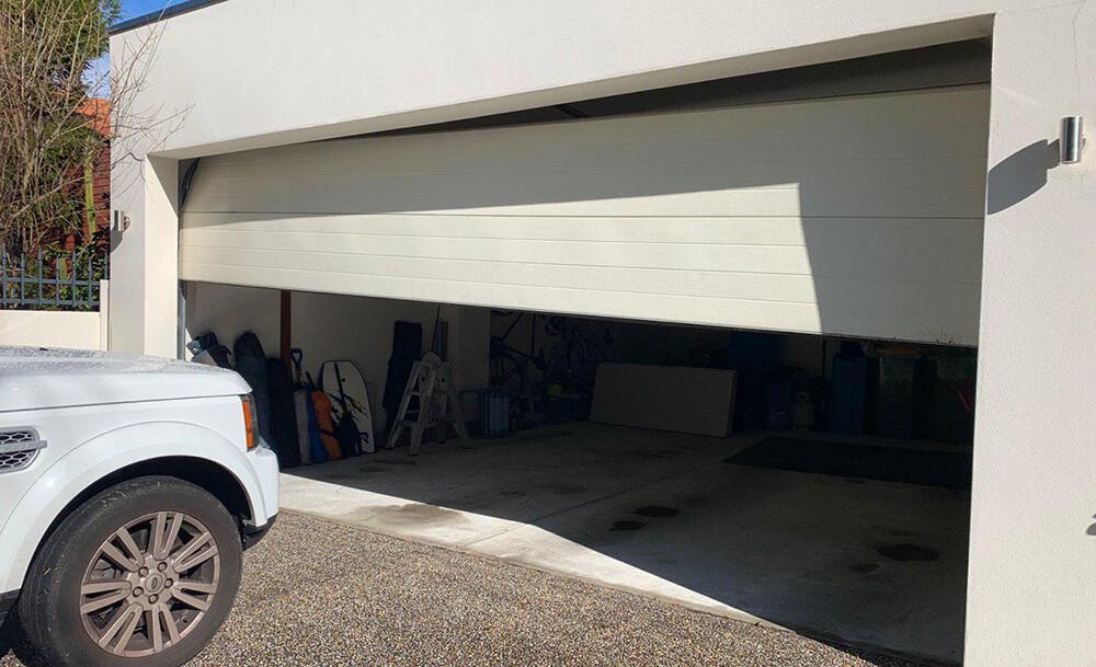 Garage Door Damage through Impact
